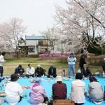 公園通り「桜を観る会」